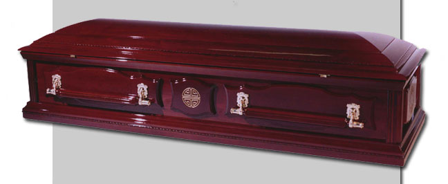 Chinese Patriarch Coffin